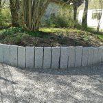 Einfassung Palisade Granit