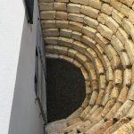 Abböschung Jura Mauer