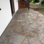 Naturstein mit Mosaik
